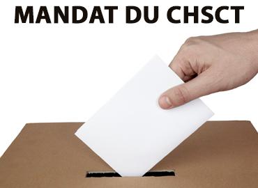 Le mandat du CHSCT
